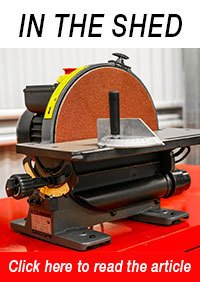 DS300 Bench Disc Sander