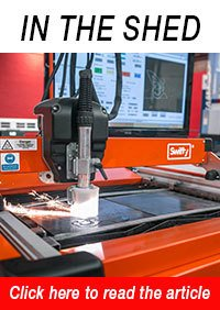 SWIFTY Compact CNC Plasma Cutting Table