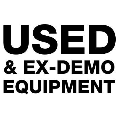 Used & Ex-Demo Equipment