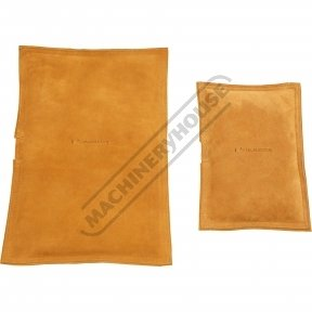Rectangle Leather Bags - Sand