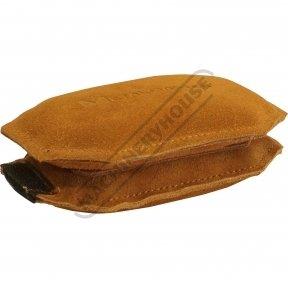 Rectangle Leather Bag - Steel Shot