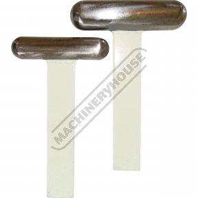 Straight Steel T-Dollie Set Large